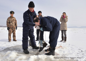 Russian-Chinese environmental monitoring of rivers Amur and Ussuri